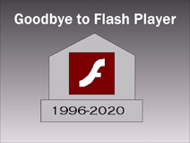 Goodbye to Flash Player Title Card
