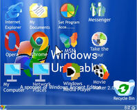 Windows Unusable as Windows Ancient Edition (August 15, 2003)