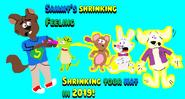 Sammy's shrinking feeling poster