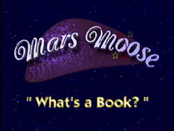 What's a Book Title Card