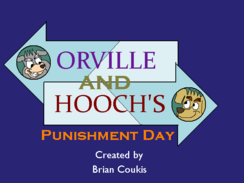 Orville and Hooch's Punishment Day Title Card