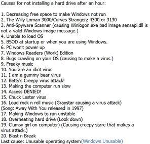 Windows Ancient Edition Viruses