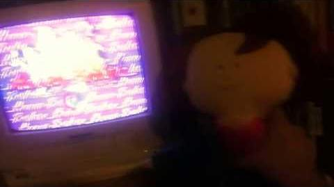 Hanna-Barbera Home Video logo with Rosie laughing