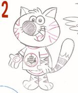 Lance from Nature Cat (Concept Art Form)