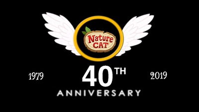 Nature Cat 40th Anniversary. '40 Years of Exploring' 1979 - 2019 Crossover