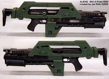 M41A Pulse Rifles(USCMC)