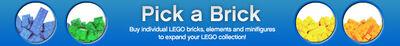 Pick a brick LEGO