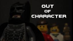 BatmanOutofCharacterPoster