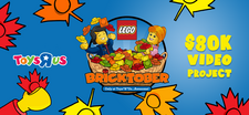 "LEGO Bricktober Toys ""R"" Us Video Project"