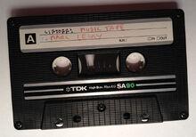 Liftoff cassette tape sm