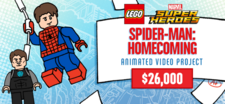LEGO Spider-Man Homecoming Video Project