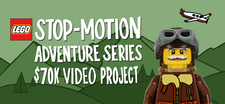 LEGO Stop-Motion Adventure Video Project