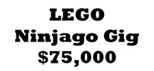 LEGO Ninjago Gig Contest
