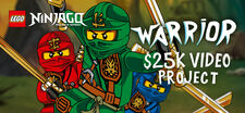 LEGO Ninjago Warrior Video Project