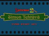 KastleVania 2: Simon Tehtävä