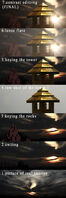 Sunrise effect breakdown