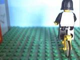 Anne Frank in Bricks Trailer
