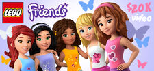 LEGO Friends Video Project