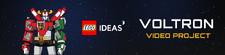 LEGO Ideas Voltron Video Project