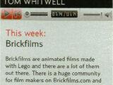 Brickfilming in the media