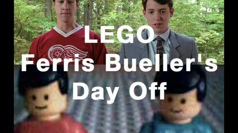 LEGO Ferris Bueller's Day Off