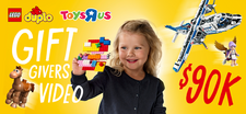 "LEGO Toys ""R"" Us Gift Givers Video Project"