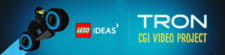 LEGO Ideas Tron CGI Video Project