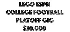 LEGOESPN College Football Playoff