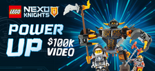LEGO NEXO KNIGHTS Power Up Video Project