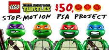 Teenage Mutant Ninja Turtles Stop-Motion PSA