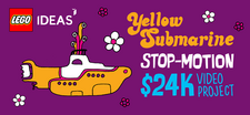 LEGO Ideas Yellow Submarine Stop-Motion Video Project