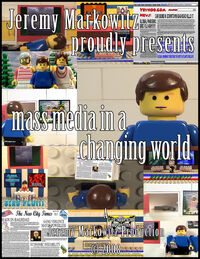 Mass media in a changing world poster small