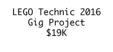 LEGO Technic 2016 Gig Contest