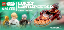 LEGO Luke´s Landspeeder Video Project