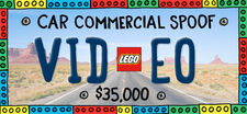 LEGO Car Commercial Video Project