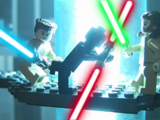 The Fastest and Funniest LEGO Star Wars story ever told... The Prequel!