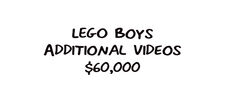 LEGO Boys Additional Videos Gig Contest