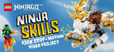 LEGO® NINJAGO™ Ninja Skills Stop-Motion Video Project
