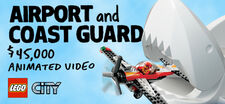 LEGO City Airport and Coast Guard Video Project