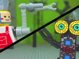 ROBOphelia vs. Grabbor