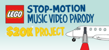 LEGO® Stop-Motion Music Video Parody Project