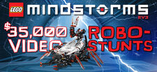 LEGO MINDSTORMS Robo-Stunts Video Project