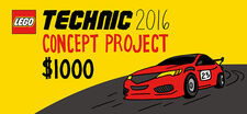 LEGO Technic 2016 Concept Project