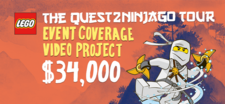 LEGO® The QUEST2NINJAGO™ Event Coverage Video Project