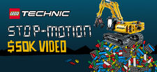 LEGO Technic Stop-Motion Video Project