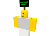 """""""I survived"""" Sign"""