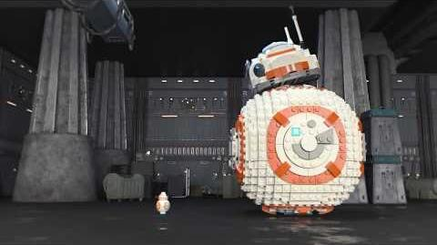 BB-8 - LEGO Star Wars - 75187 - Product Animation