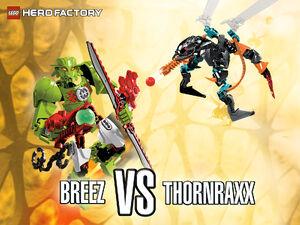 Breez vs. Thornraxx wallpaper