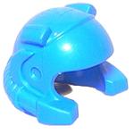 Helm (Open met Zoeklicht) blauw