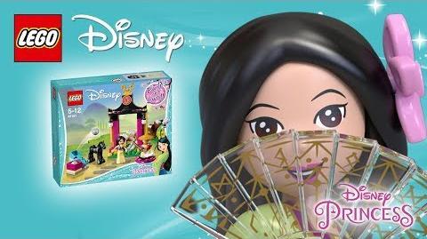 Mulan's Training Day - Product Spin - LEGO Disney 41151